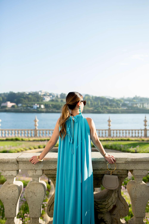 By Malene Birger Blue Maxi Dress