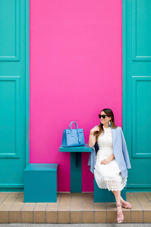 Chicwish White Lace Dress