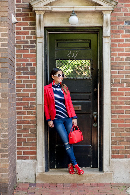 HUE Tights Fashion Blogger