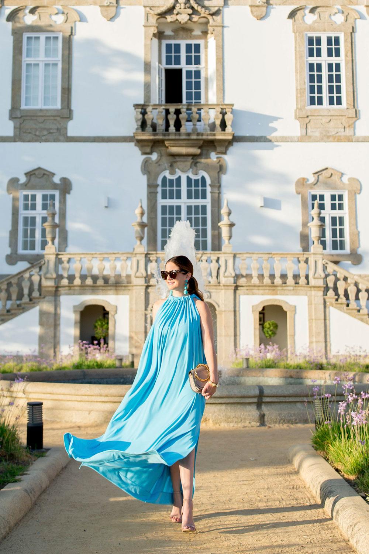By Malene Birger Maxi Dress And Chloe Nile Bag In Porto