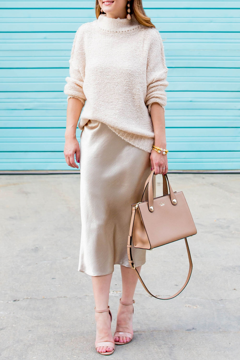 Nordstrom Tan Oversized Sweater