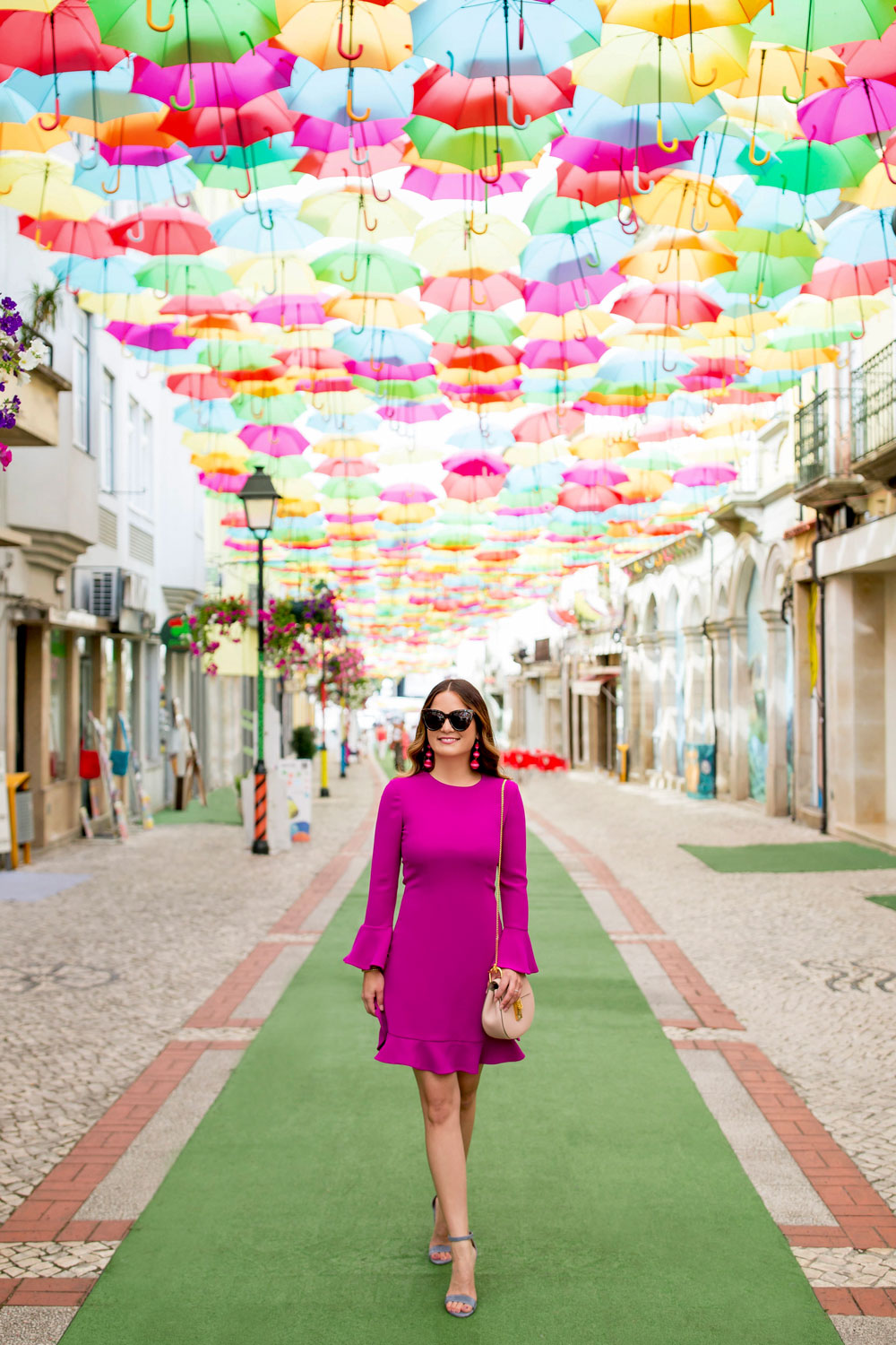 Portugal Umbrella Installation