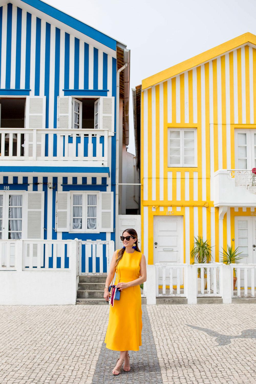 Striped Homes Costa Nova Aveiro Portugal