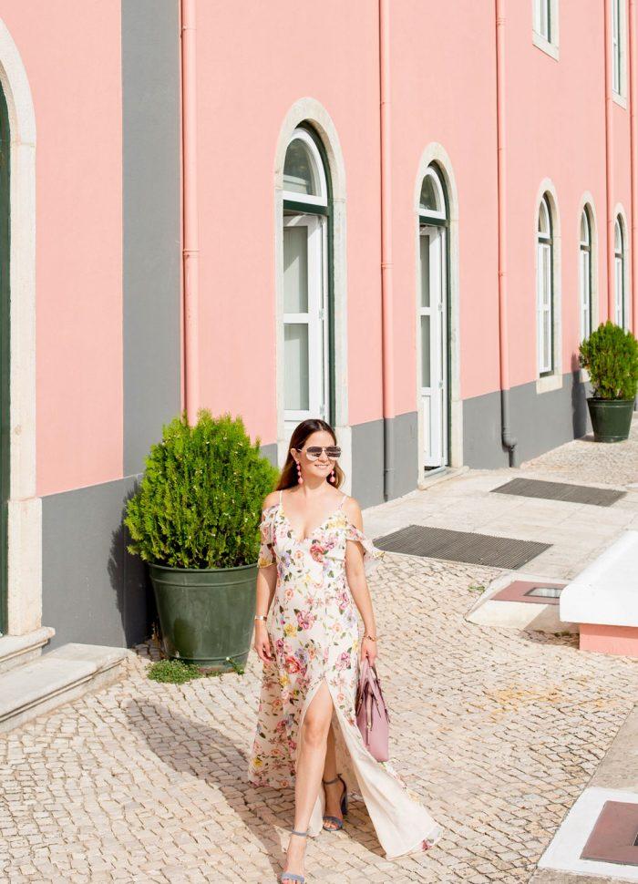 Yumi Kim Ruffle Floral Maxi Dress | Cascais, Portugal