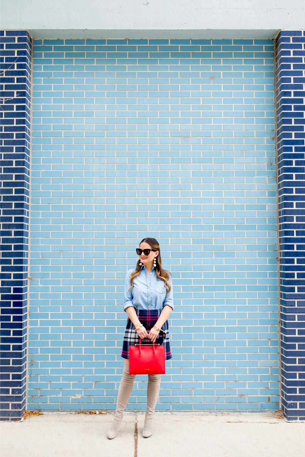 Blue Brick Wall Chicago