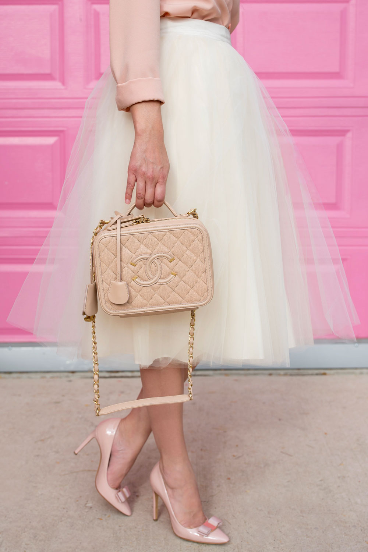 Rachel Parcell Collection Blush Scallop Trim Top Style