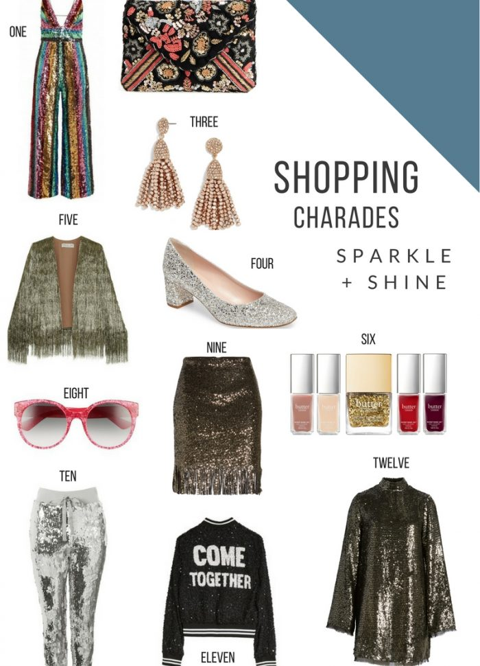 10.28.2017 // Shopping Charades Sequins
