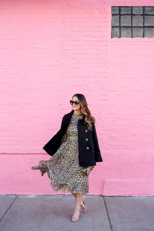 Jennifer Lake Kate Spade Leopard