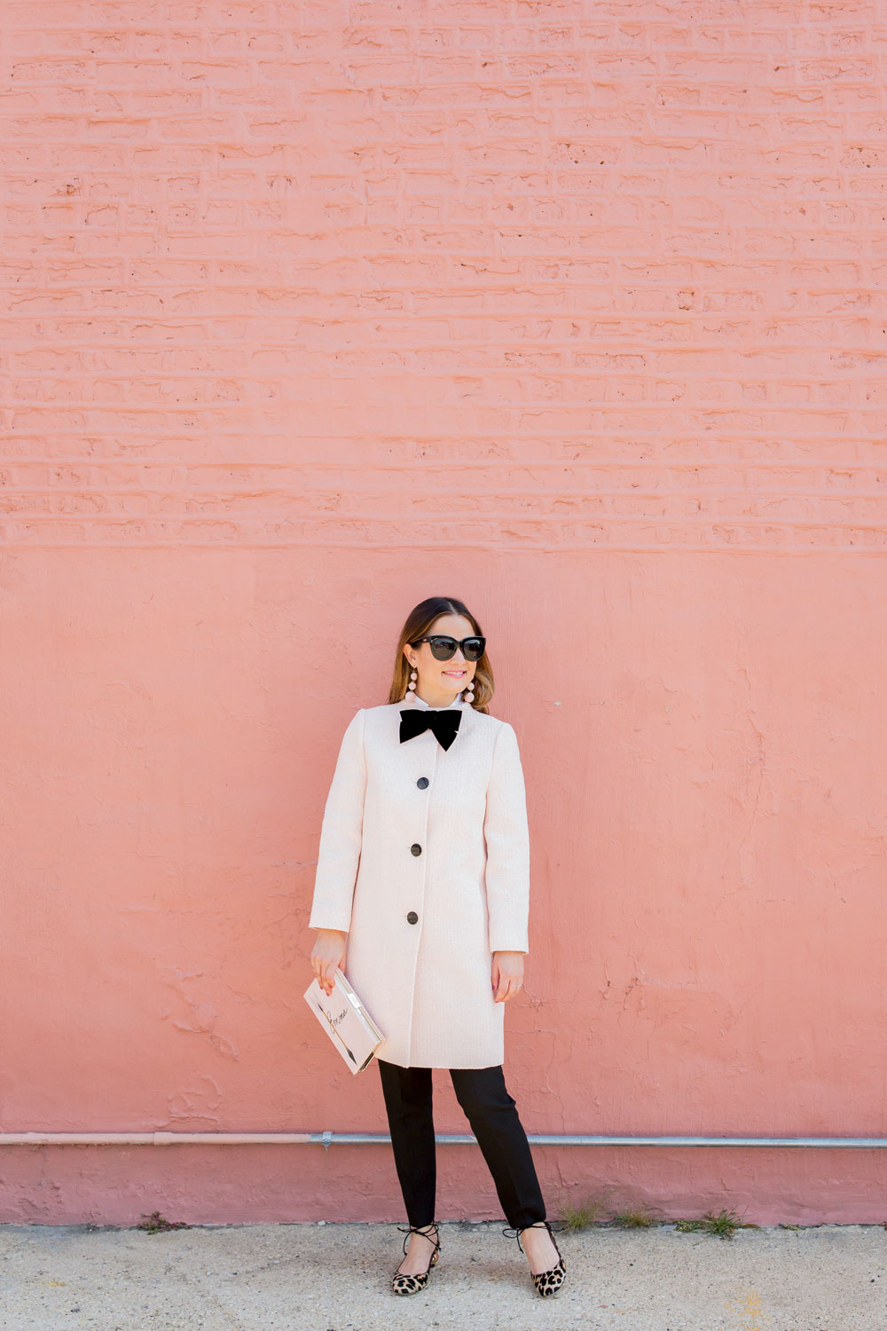 Jennifer Lake Pink Kate Spade Coat