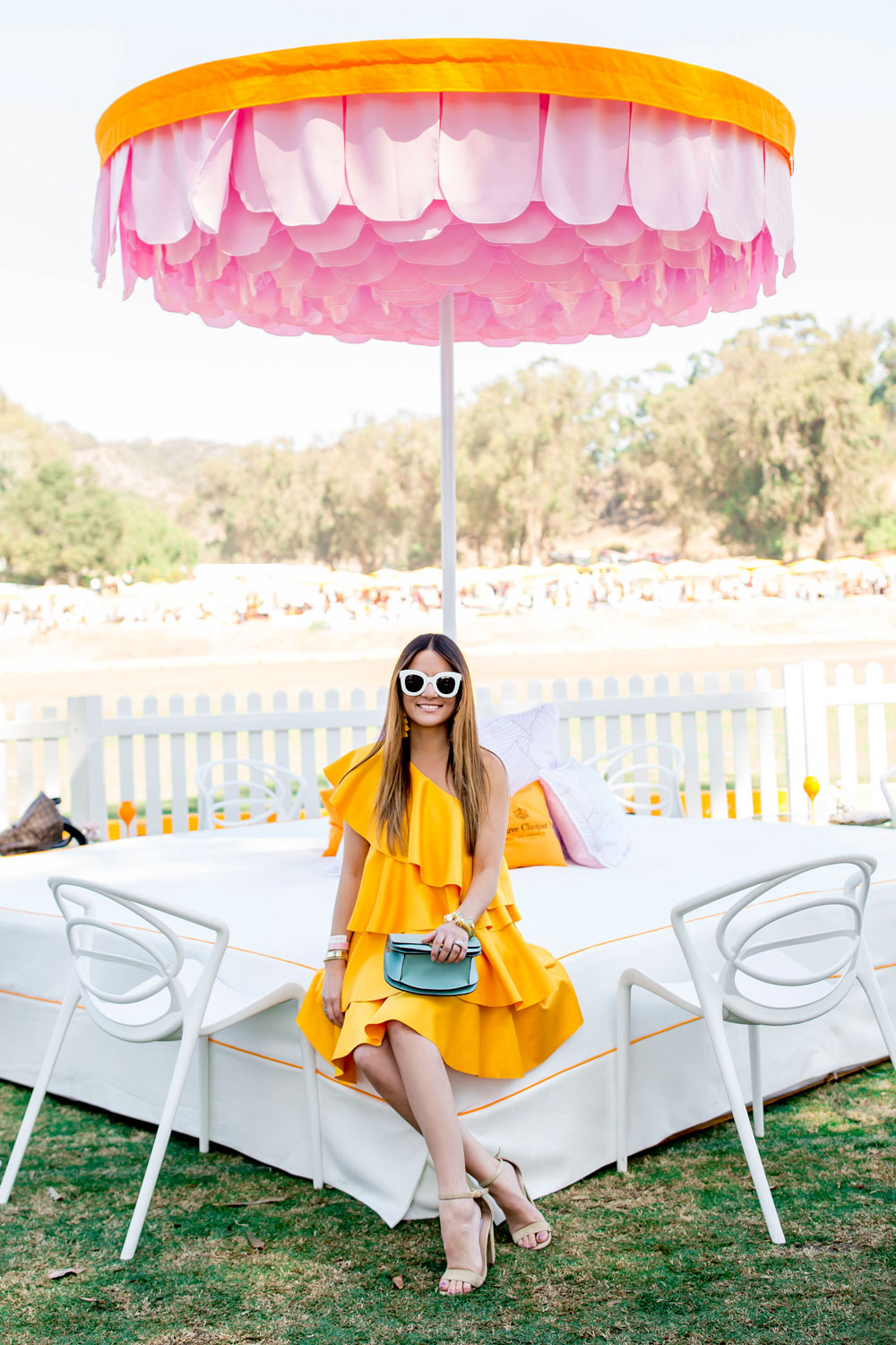 Jennifer Lake Veuve Clicquot Polo Classic Los Angeles 2017