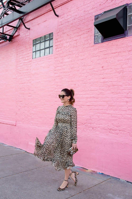 Kate Spade Leopard Heels