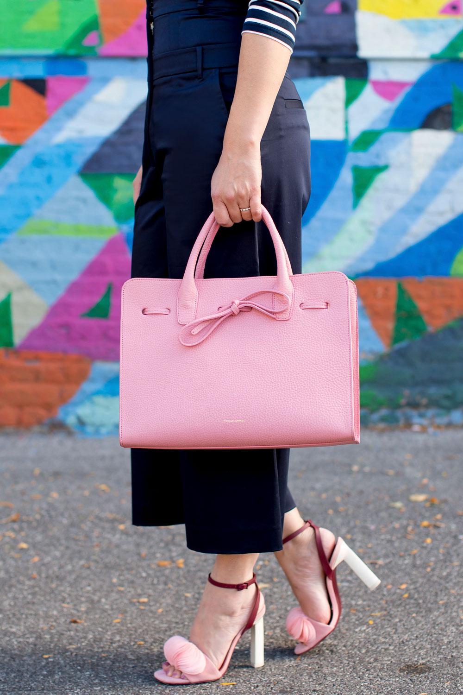 Mansur Gavriel Pink Sun Bag