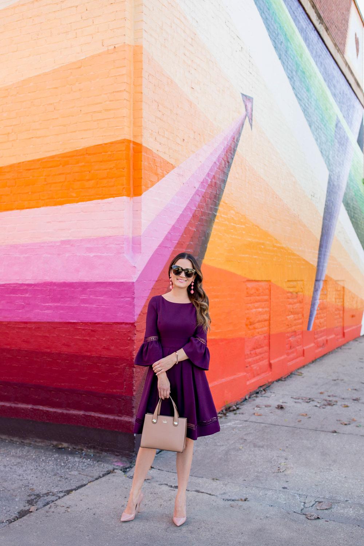 Multicolor Stripe Mural Chicago
