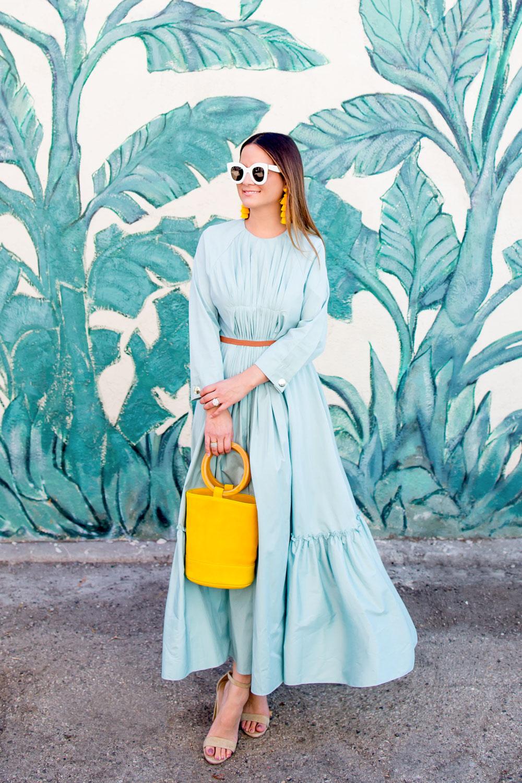 Roksanda Green Midi Dress