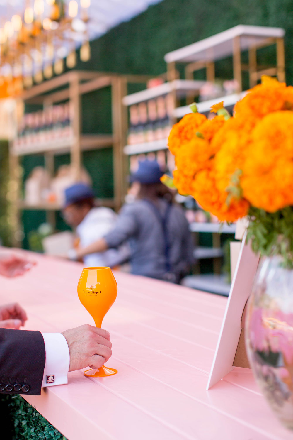Veuve Clicquot Polo Rose Garden