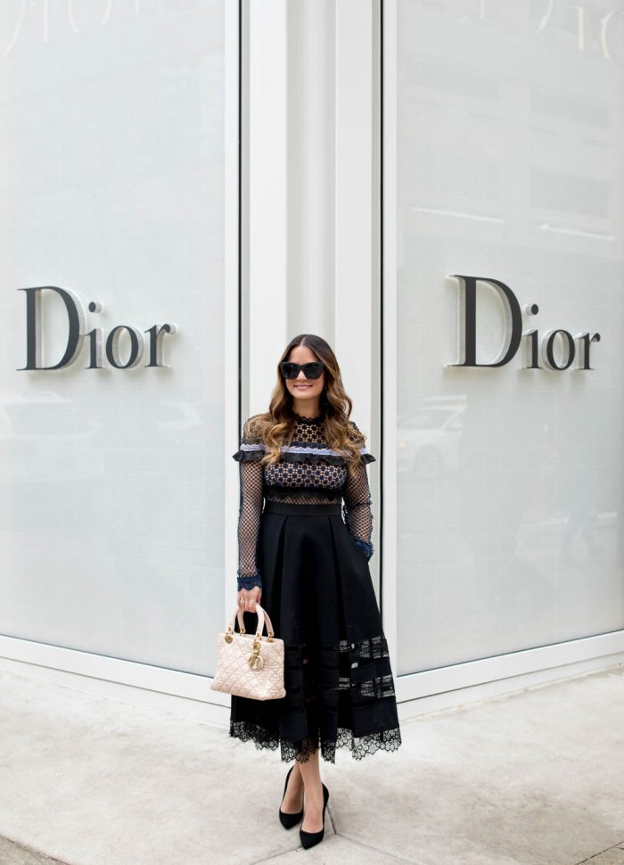 Christian Dior Chicago Grand Opening