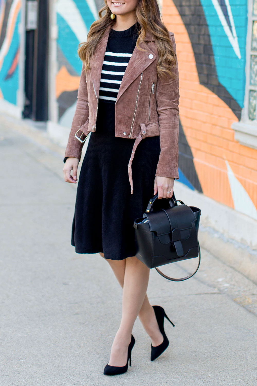 Eliza J Black Sweater Dress
