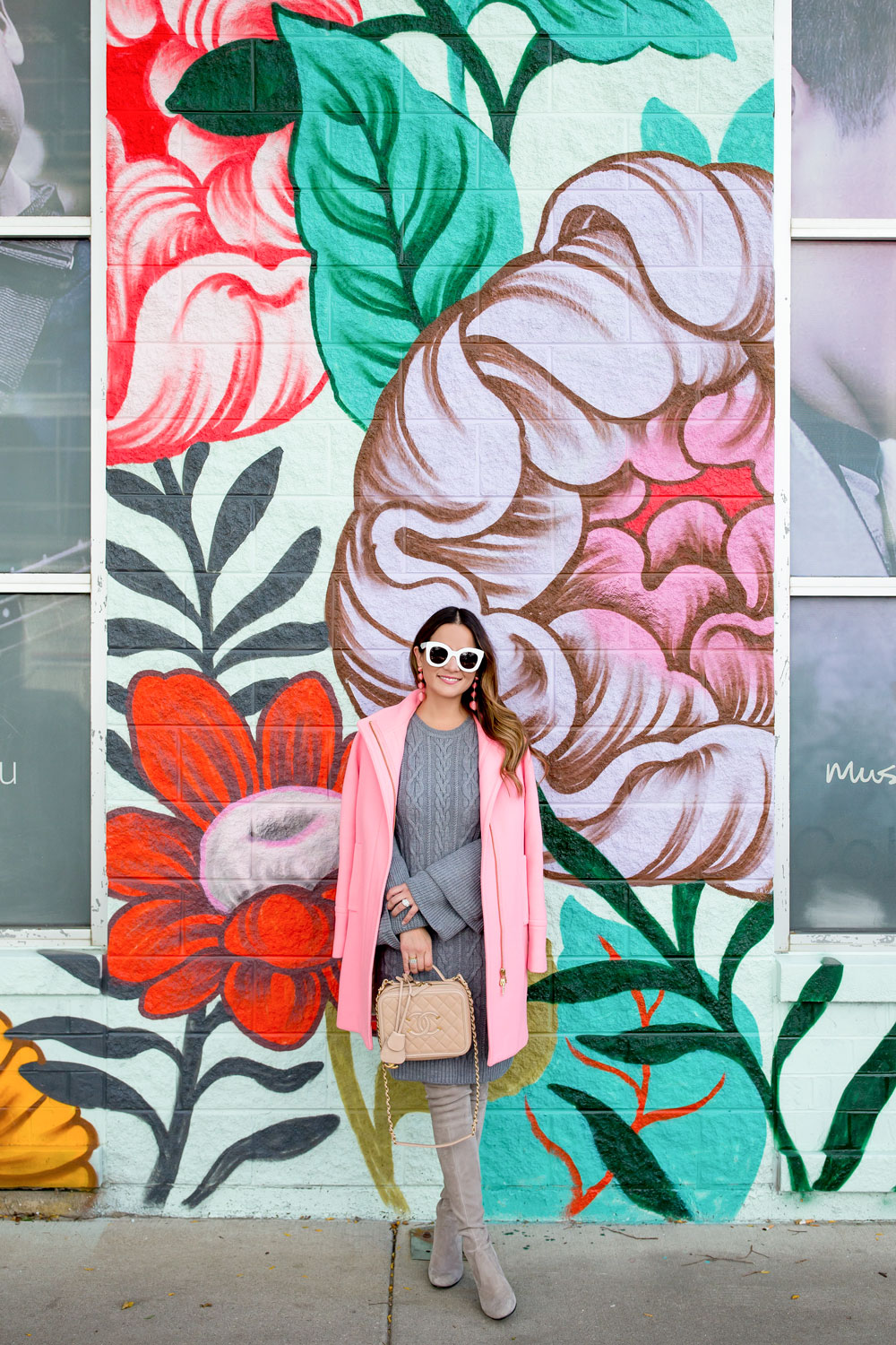 Floral Mural Chicago
