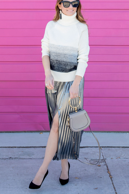 Grey Chloe Nile Bracelet Bag