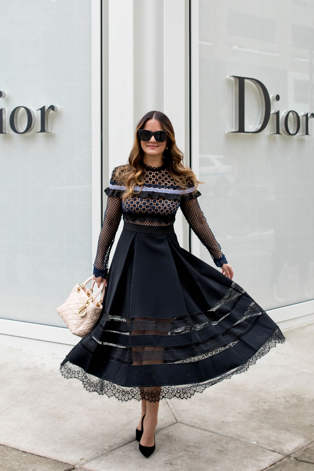 Jennifer Lake Christian Dior Chicago