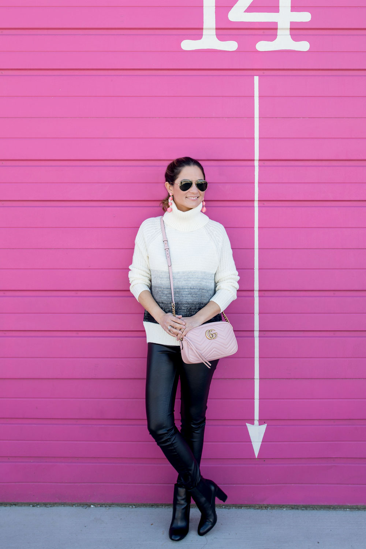 Pink Gucci Matelasse Bag