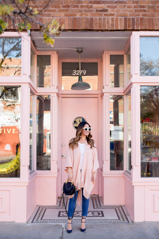 Pink Storefront Chicago