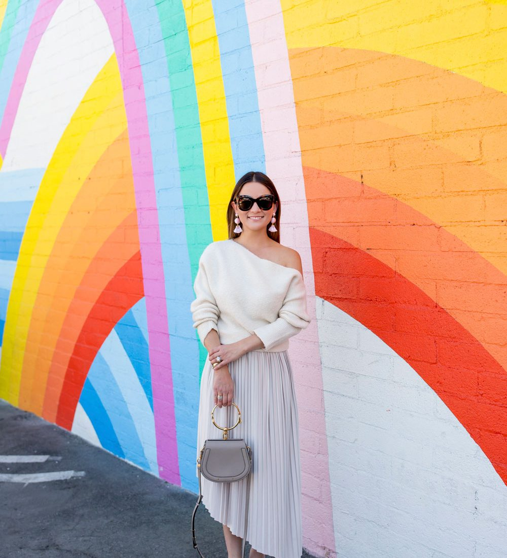 Rainbow Mural Los Angeles