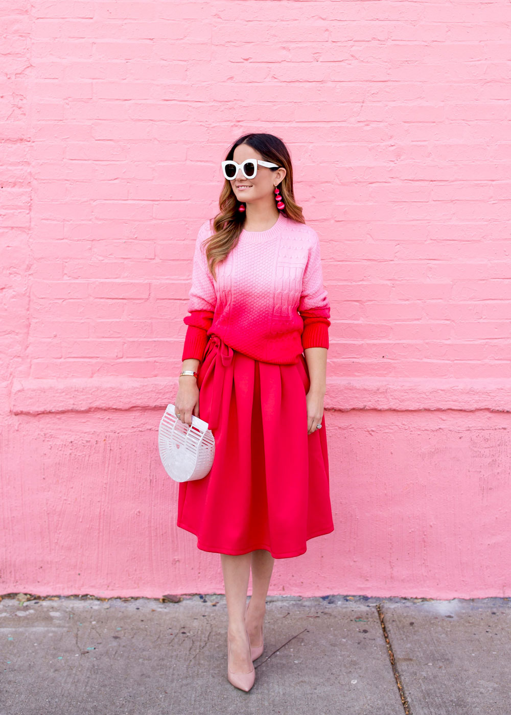 Red Pink Outfit Ideas