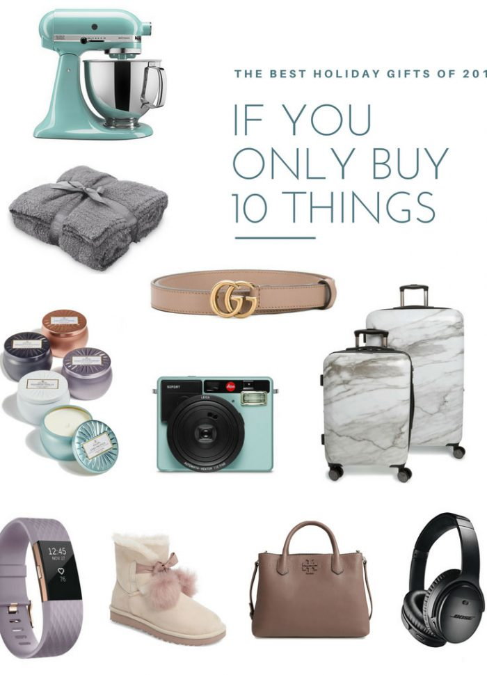 Shopping Charades // The Ten Best Holiday Gifts