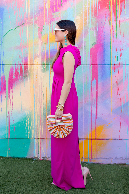 Camilyn Beth Pink Ruffle Dress
