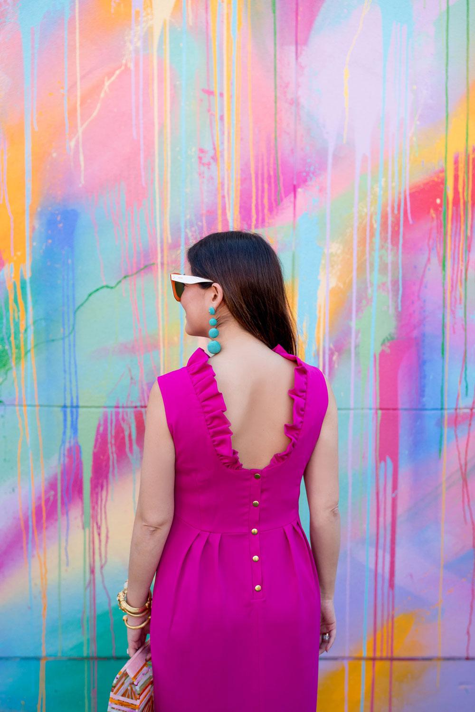 Camilyn Beth Ruffle Dress