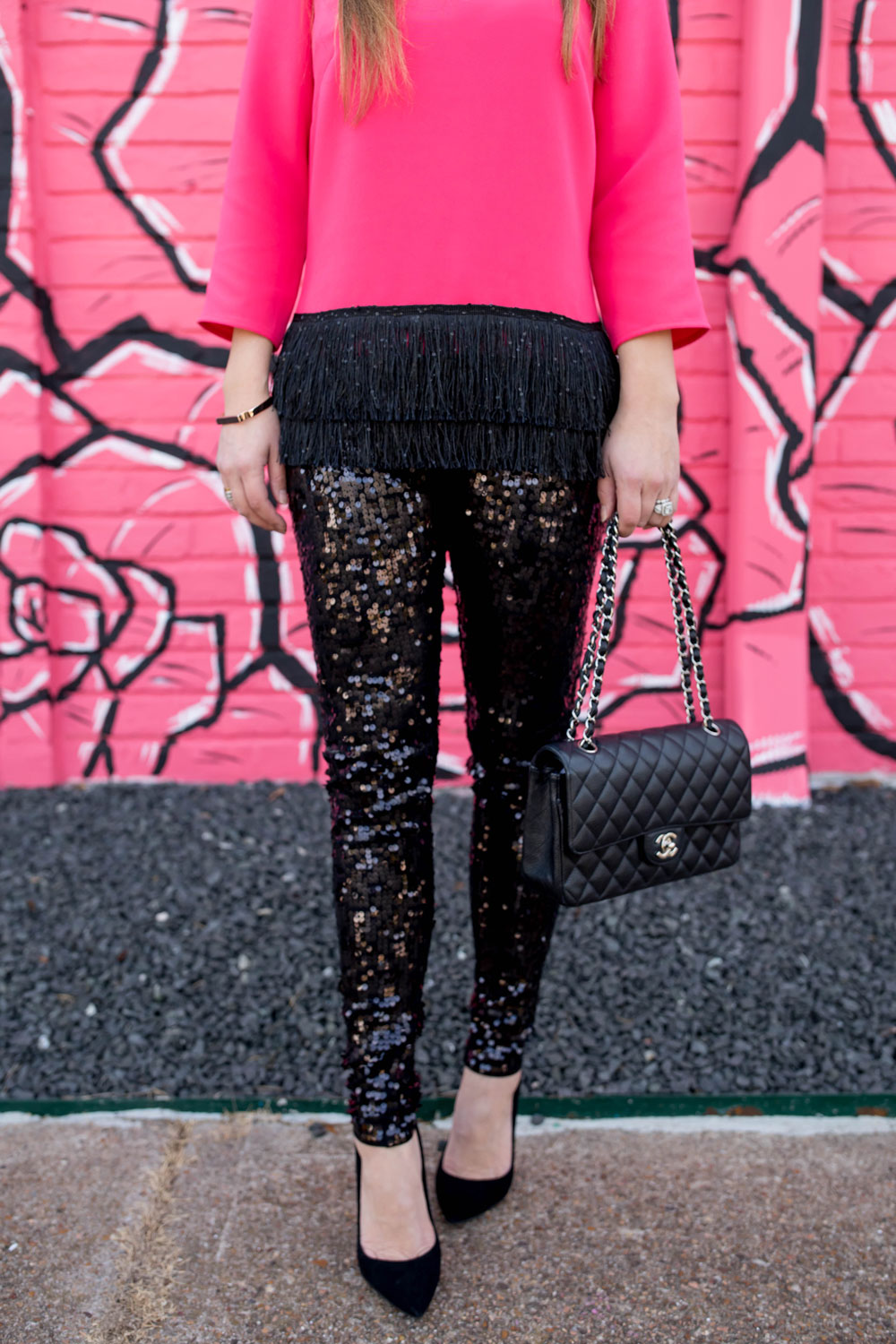 Express Sequin Leggings
