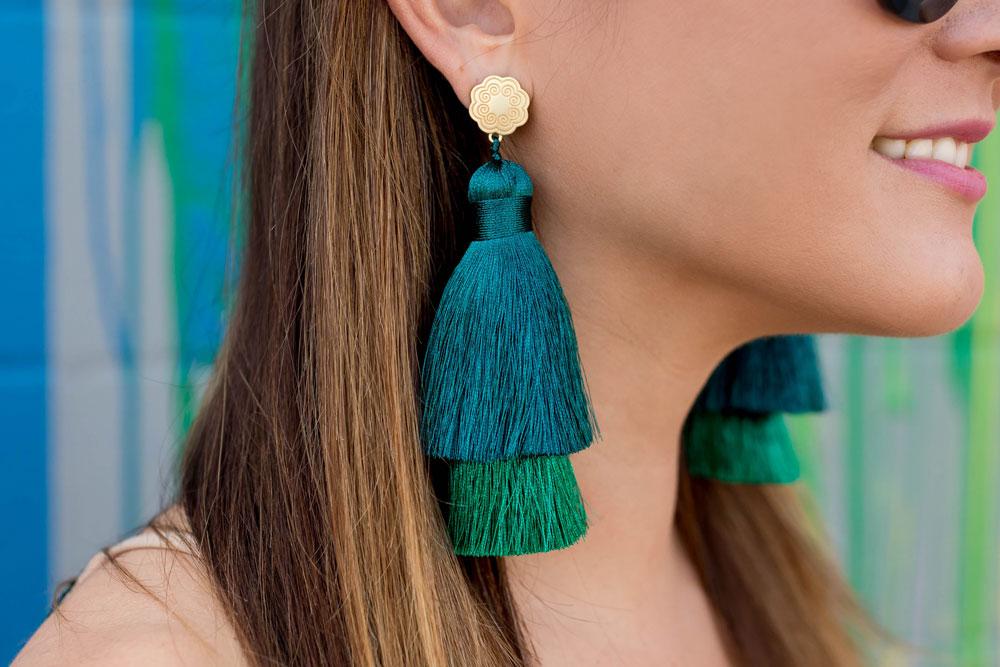 Hart Double Trouble Tassel Earrings