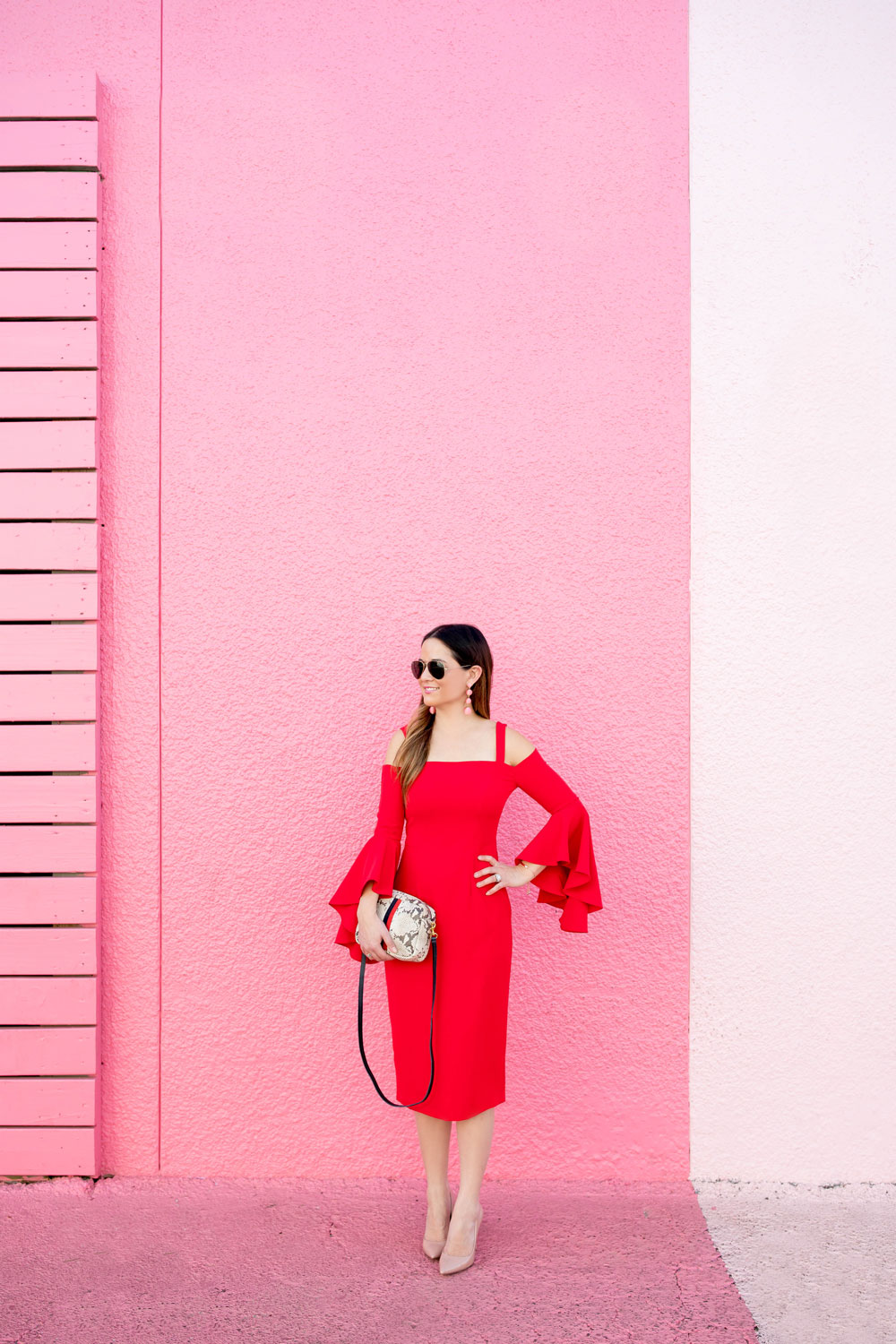 Houston Pink Wall