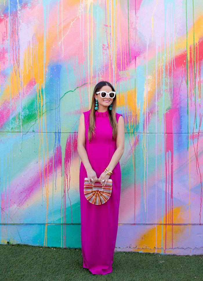 Camilyn Beth Go Go Gown | #MoreColorPlease Mural