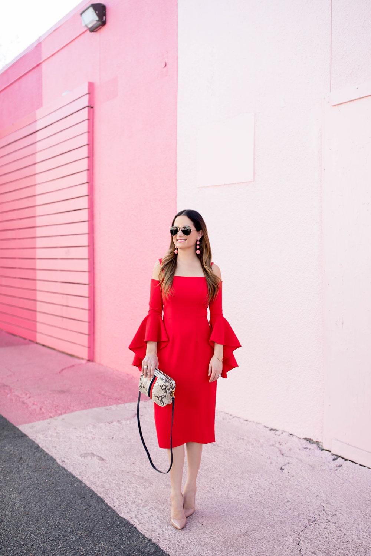 Pink Stripe Wall Houston