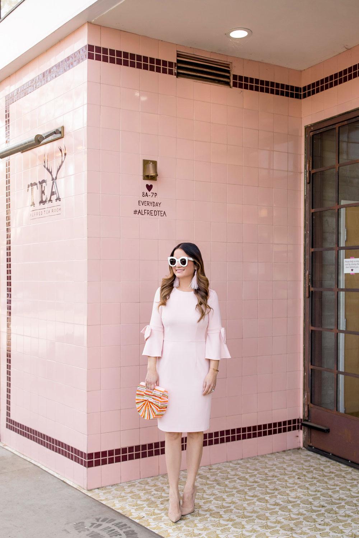 Alfred Tea Room Fashion Blogger