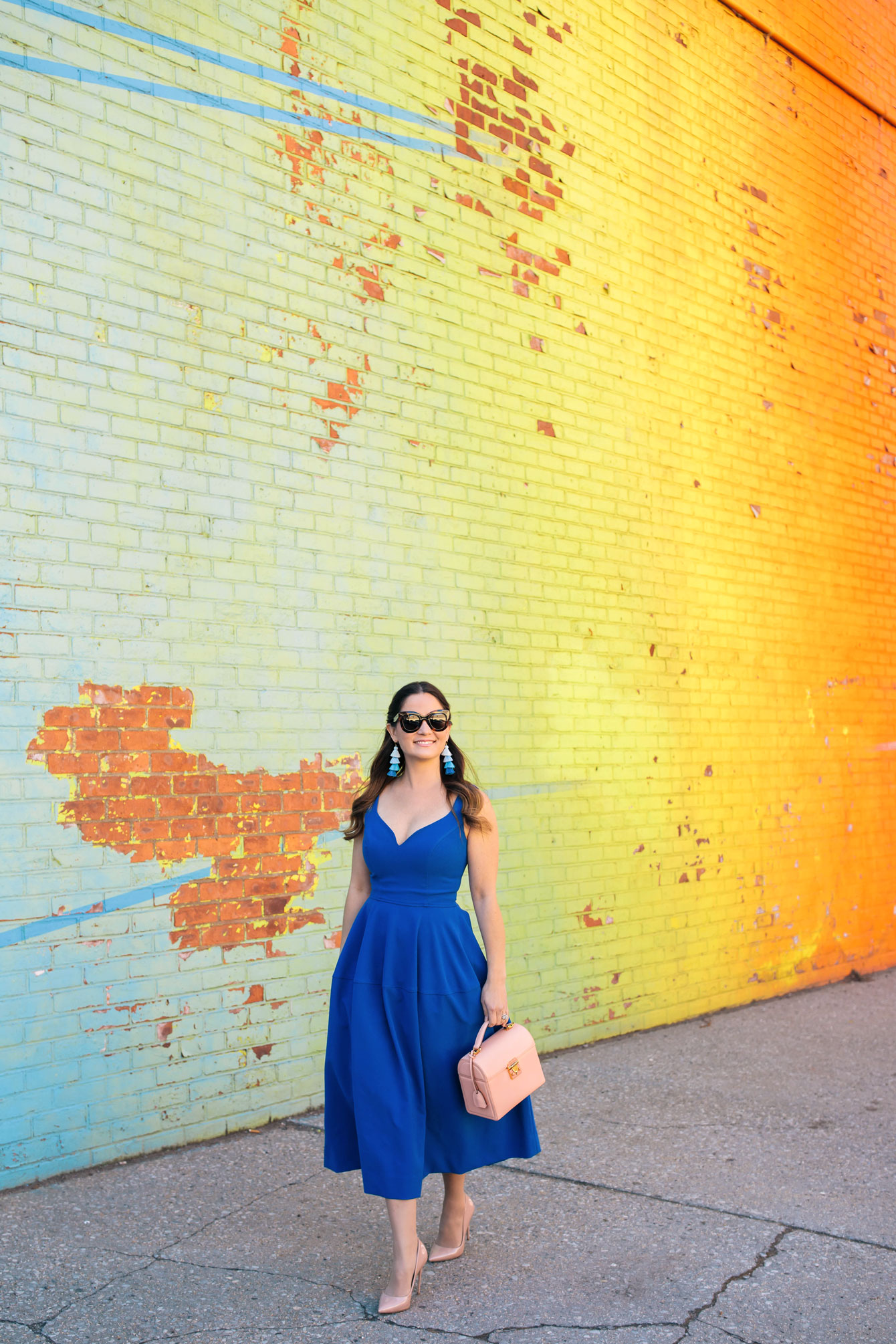 Colorful DUMBO Mural