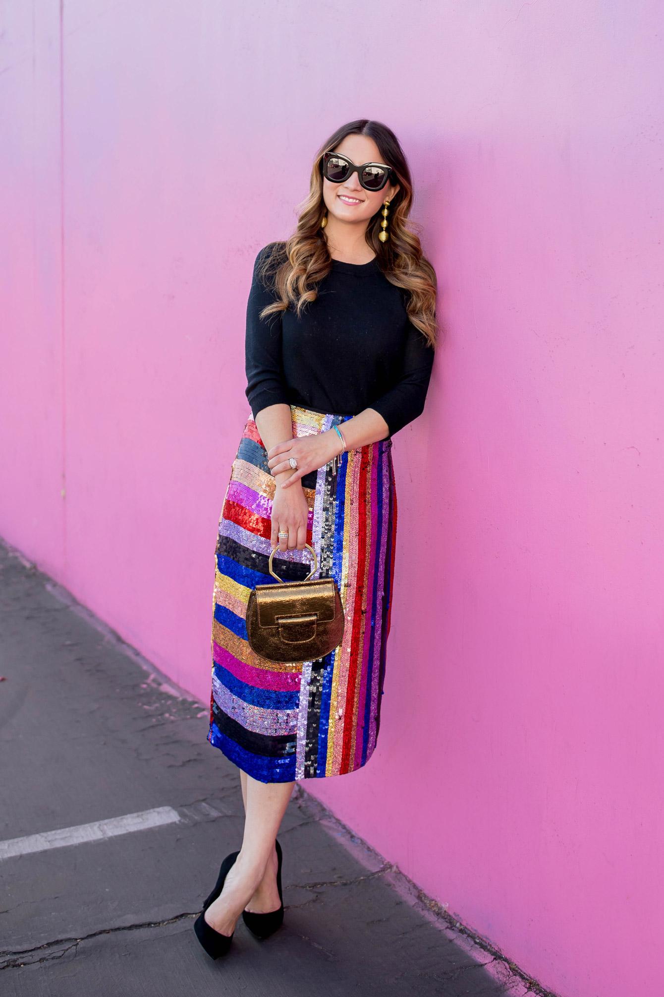 Topshop Nordstrom Sequin Skirt