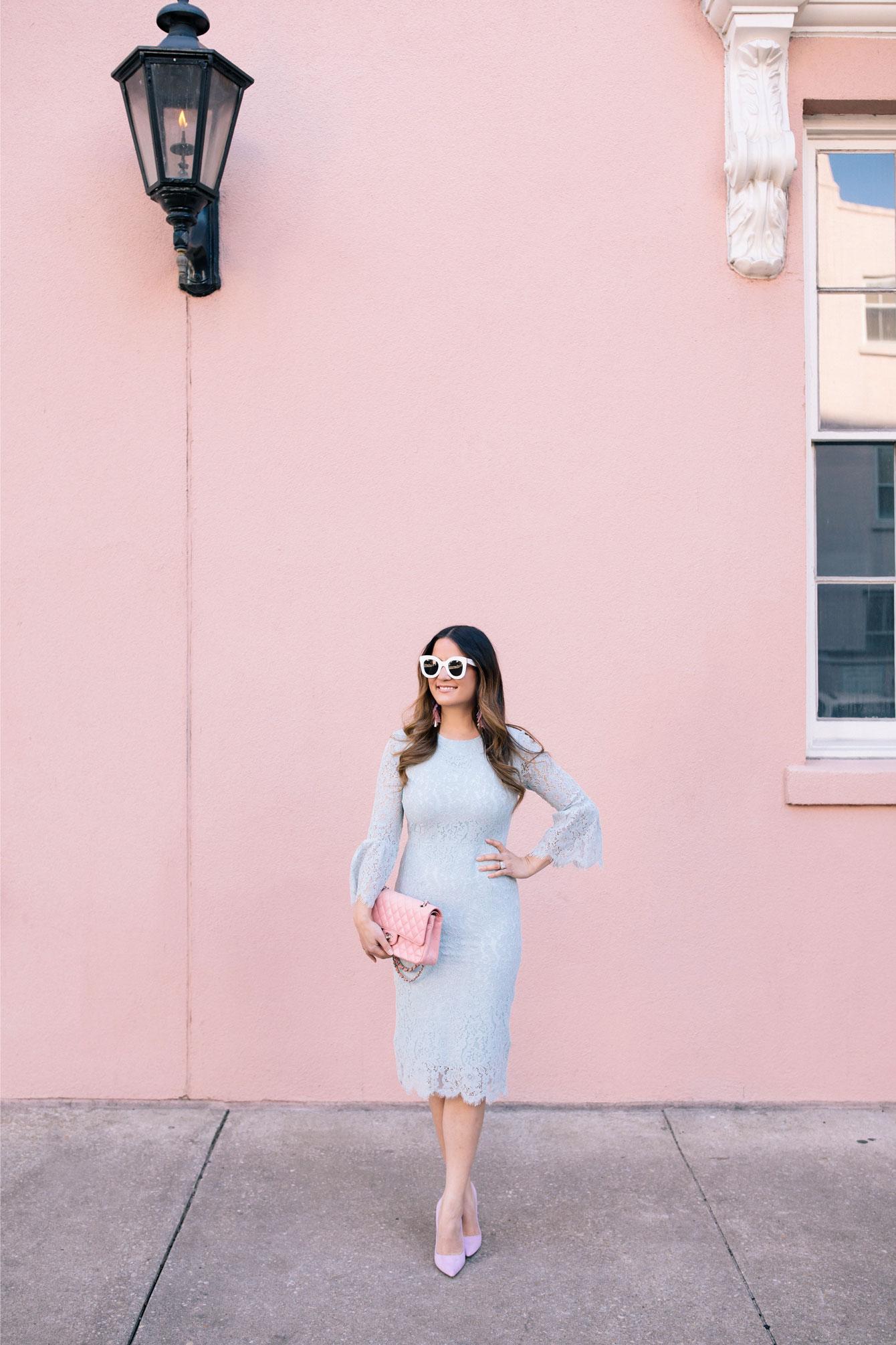 Charleston Pink Building