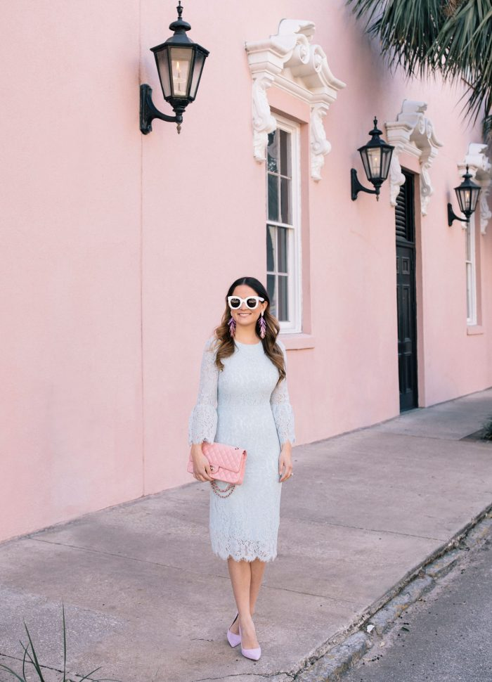 Rachel Parcell Lace Dress in Charleston
