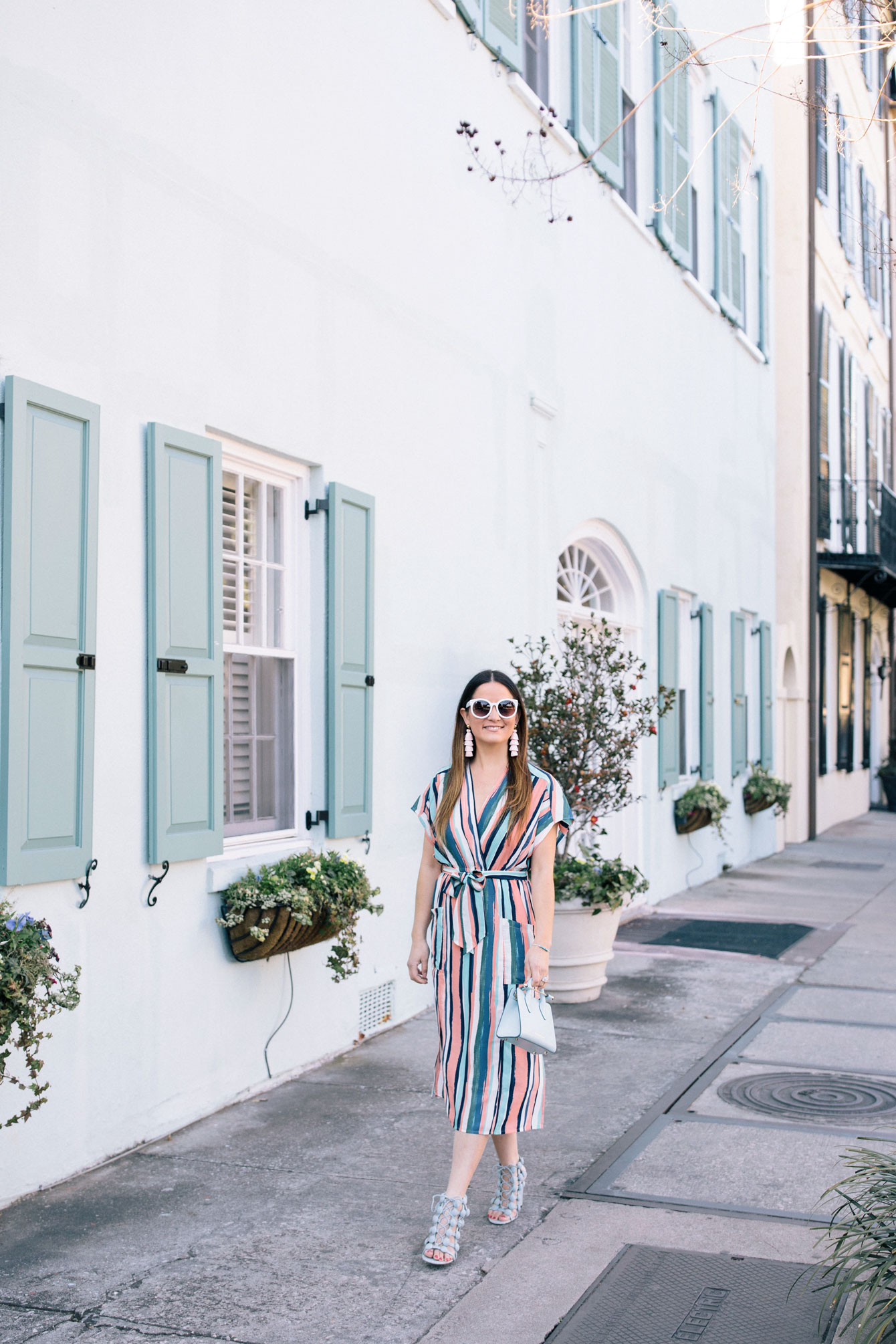 Jennifer Lake Rainbow Row Charleston