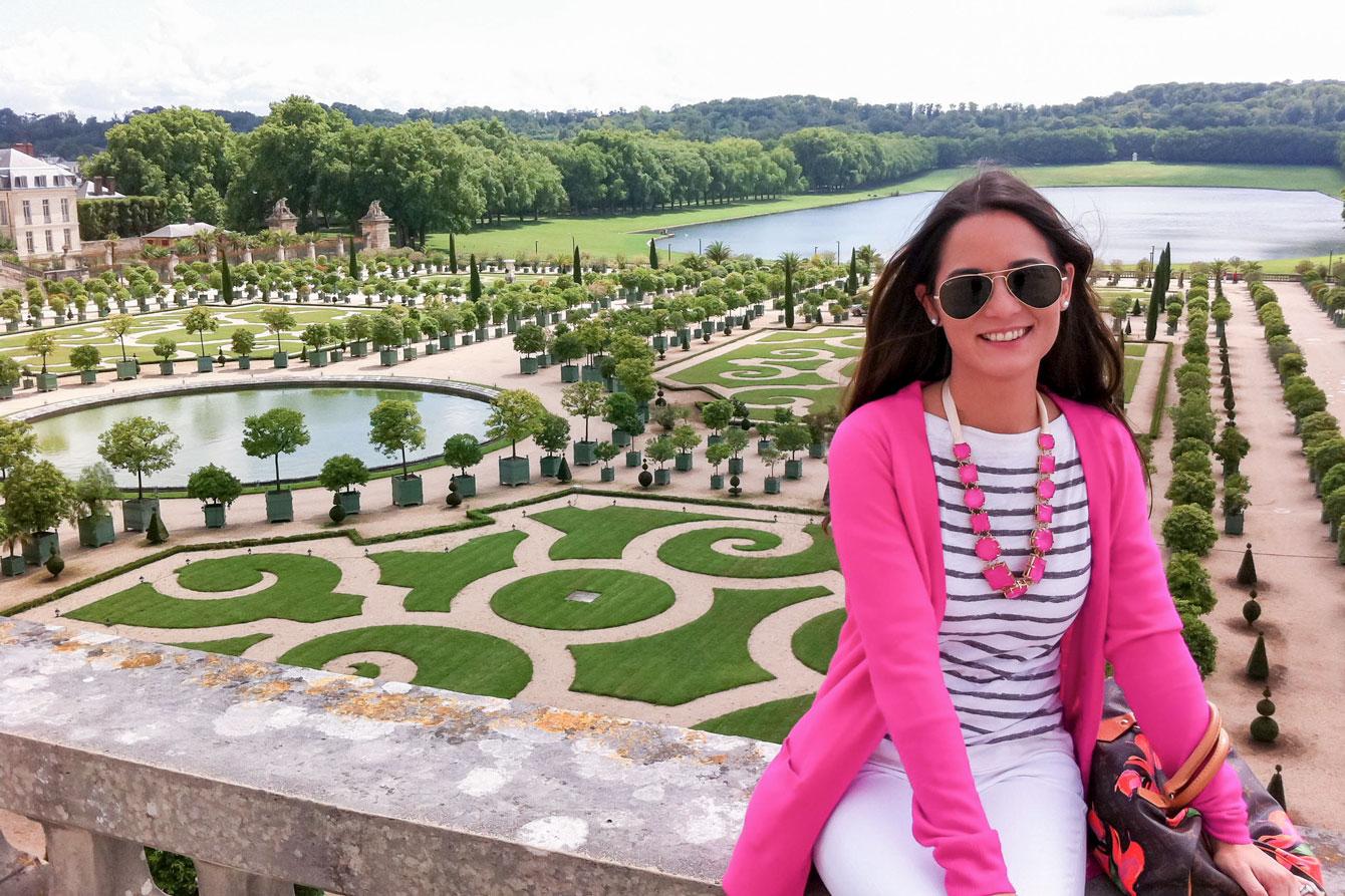 Jennifer Lake Versailles Gardens