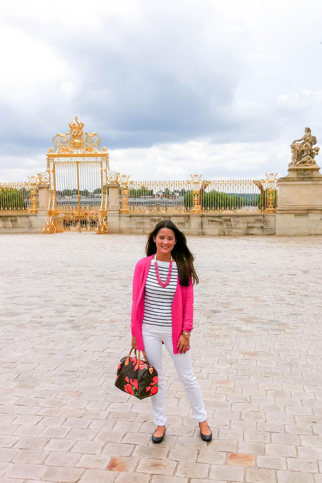 Jennifer Lake Versailles Gold Gates