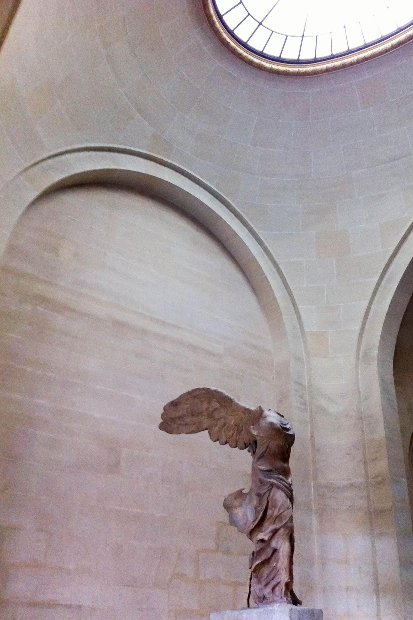 Louvre Winged Victory Samothrace