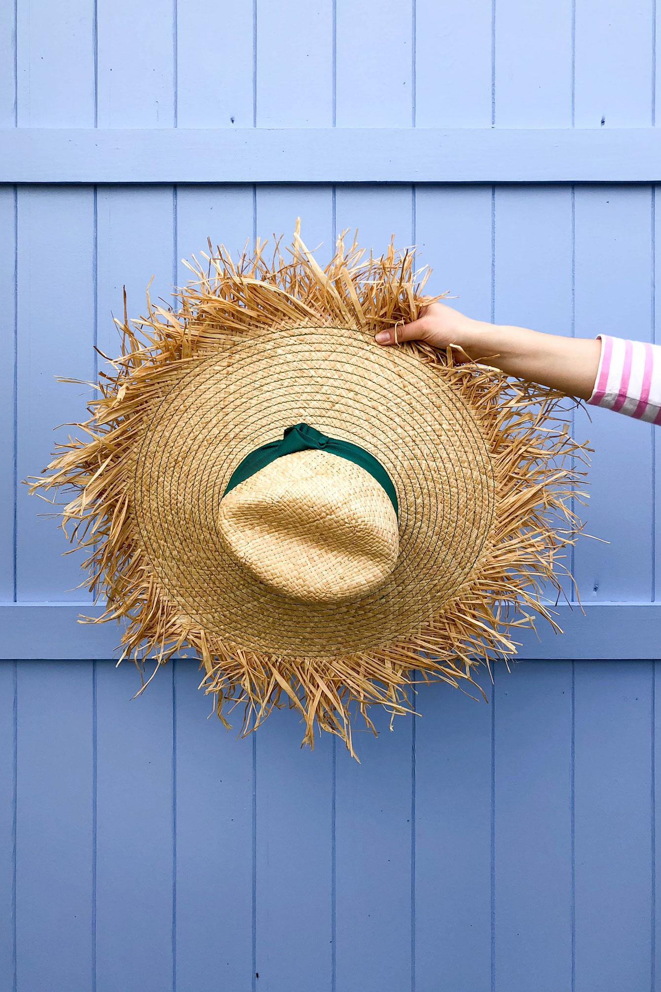 Pamela Munson Fame Straw Hat