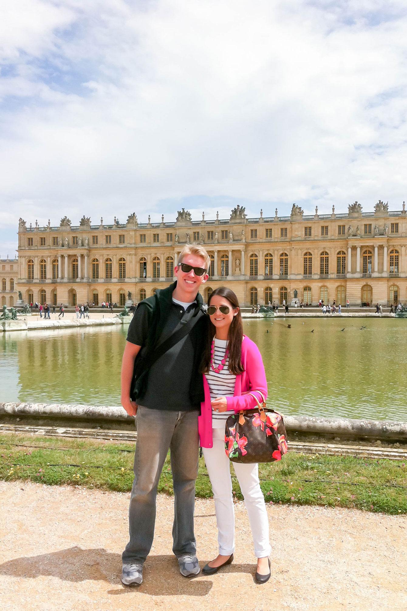 Versailles Tourist Photos