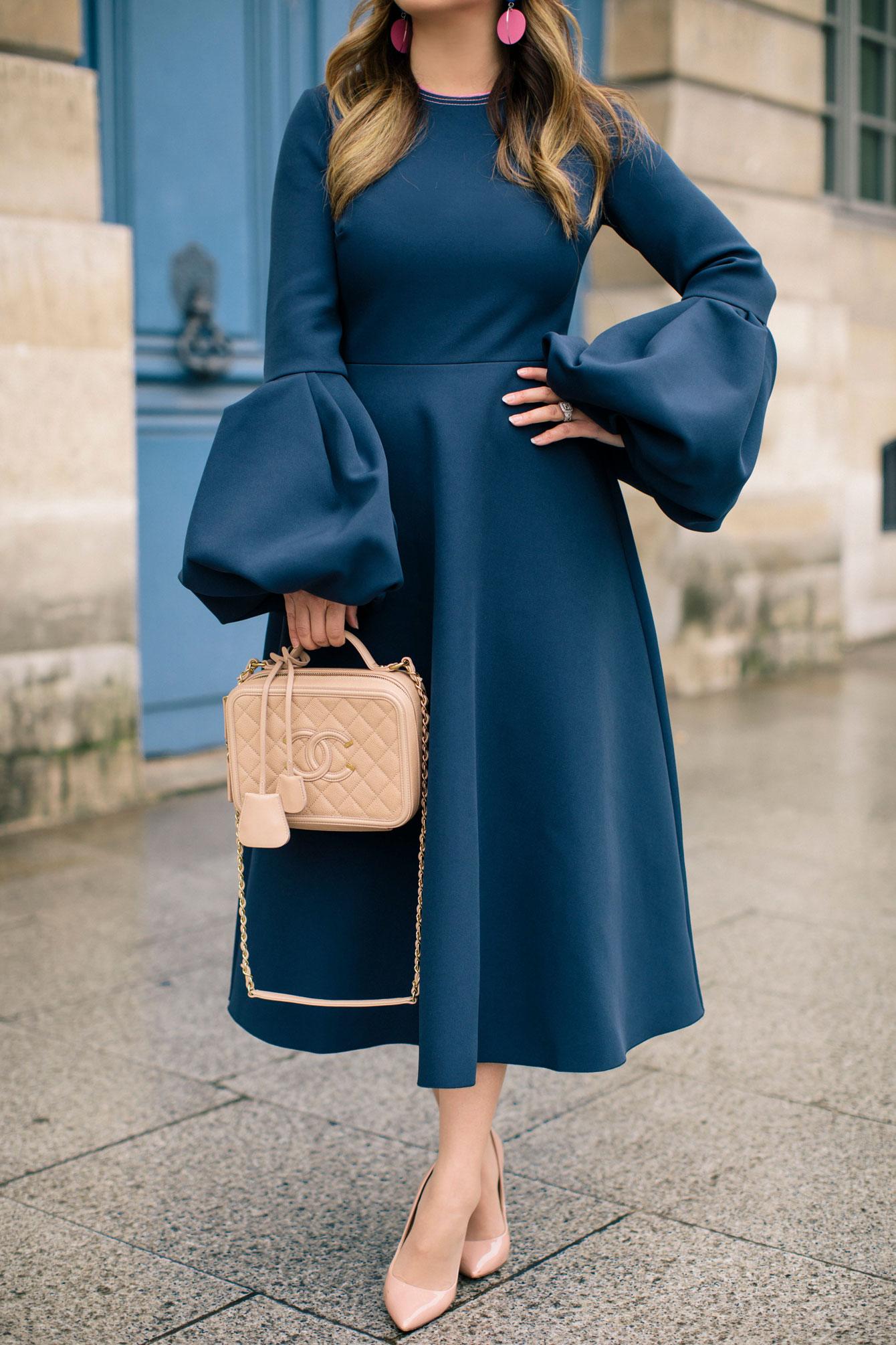 Chanel Filigree Vanity Case Bag