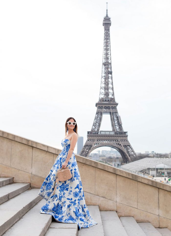 Mestiza Georgiana Gown in Paris