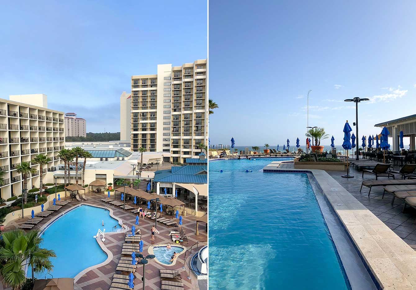 Hilton Sandestin Pools